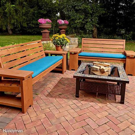 awesome plans  diy patio furniture  family handyman