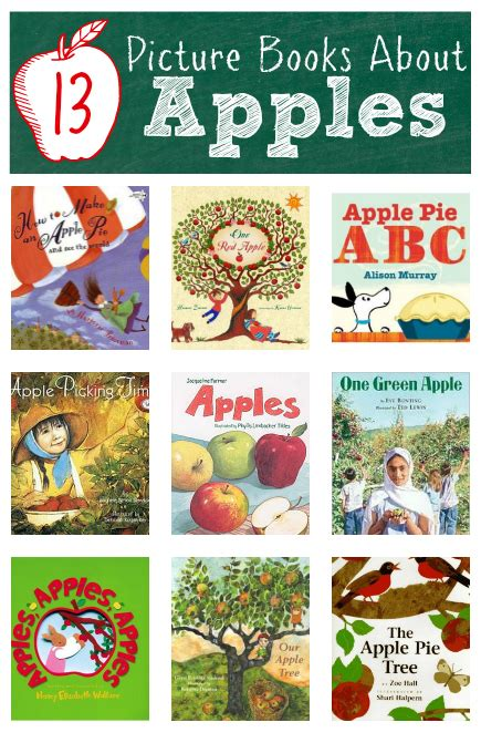 fall craft ideas for preschool activities amp book lists 777 | books about apples for kids