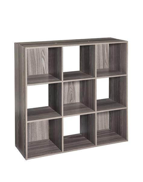 Closetmaid Cubicals - closetmaid cubeicals 9 cube organizer gray