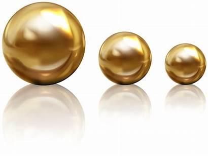Golden Beads Clipart Decorative Transparent Yopriceville