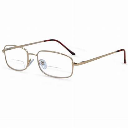 Bifocal Glasses Reading Eyes Middle Metal Frame