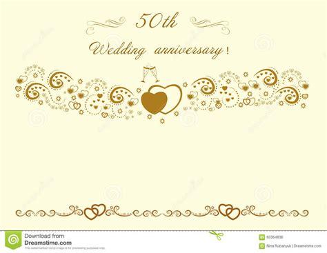 wedding anniversary invitationbeautiful editable