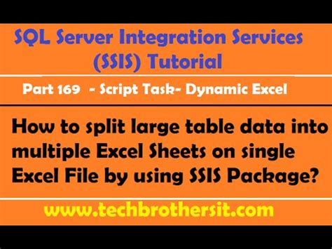 how to load data into multiple tables using sql loader how to large table data into multiple excel sheets