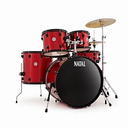 Drum Natal Kit Evo Fusion Drums Cymbals