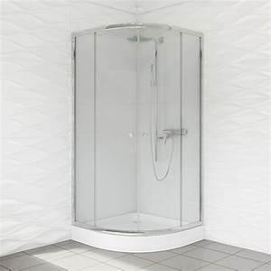 Viertelkreis Duschkabine 80x80 : duschkabine runddusche klarglas r55 schiebet ren 80 90 cm ~ Watch28wear.com Haus und Dekorationen