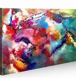 Dreiteilige Bilder Auf Leinwand : 3 d rahmen london abstrakt von paul sinus bild auf leinwand 200 x 70 cm 4cm dicker rahmen ~ Orissabook.com Haus und Dekorationen