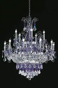 Grand Lustre Design : grand lustre en cristal transparent et inox poli 15 ~ Melissatoandfro.com Idées de Décoration