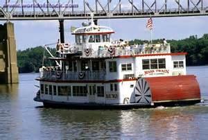 Hannibal MO Mississippi River Boats