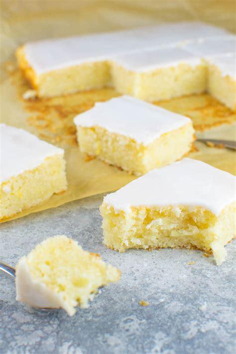 veganer kuchen ohne back to basics einfacher zitronen blechkuchen mit
