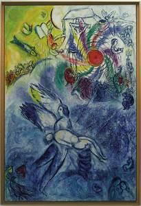 Marc Chagall La creazione dell uomo 1956 58 Musée national Marc Chagall, Nizza Artribune