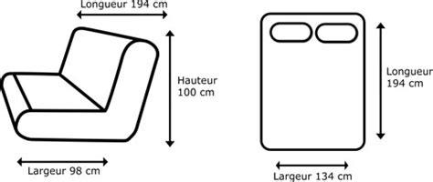 dimension d un clic clac clic clac banquette grise avec matelas 130 x 190 cm clic clac pas cher