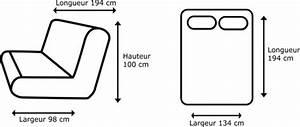 Dimension Clic Clac : clic clac en tissu taupe avec matelas 130 x 190 cm banquette pas cher ~ Teatrodelosmanantiales.com Idées de Décoration