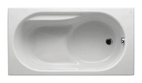 baignoire nue rectangulaire sabot praxis 120x70 ideal