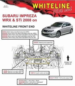 Whiteline Front Sway Bar 22mm Adjustable