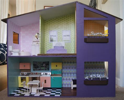 modern doll house curbly diy design decor