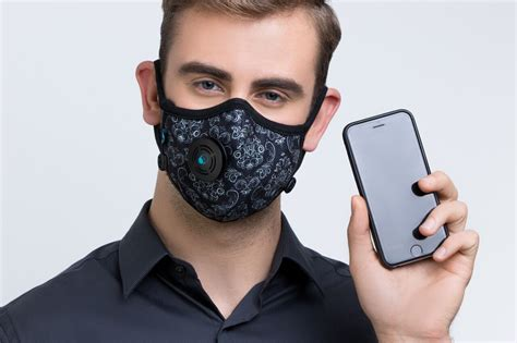 smart cambridge mask connecting  clean air