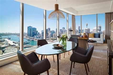 Living Room L Sydney by Sofitel Sydney Harbour Prestige Suite