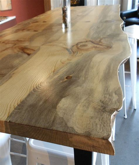 edge slabs add  natural touch