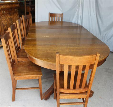 bargain johns antiques antique mission style  oak