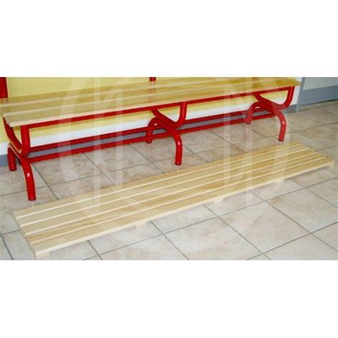 pedana da palestra pedana poggiapiedi in legno per spogliatoi artisport