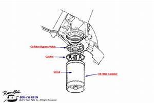 1959 Corvette Oil Filter Parts
