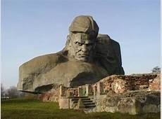 kuriosas Brest Fortress, Belarus
