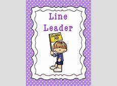 Line Leader Single laminated Class Job Classroom Poster