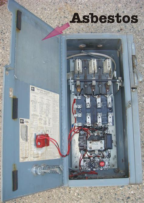 cutler hammer electrical panel  asbestos paper flickr