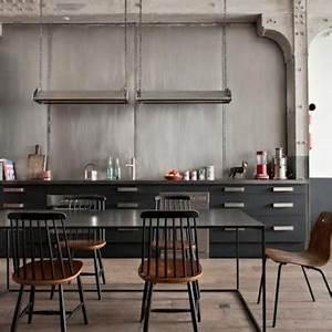 Cuisine Style Industriel Ikea : industrial kitchen design ~ Melissatoandfro.com Idées de Décoration