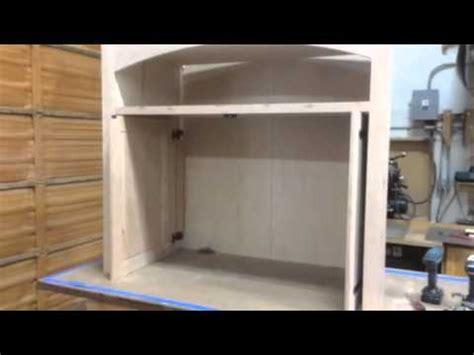 Pocket Door Kitchen Cabinets by Custom Pocket Doors On Media Cabinet