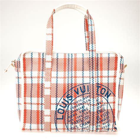 louis vuitton limited edition ss plaid laundry bag louis vuitton tlc