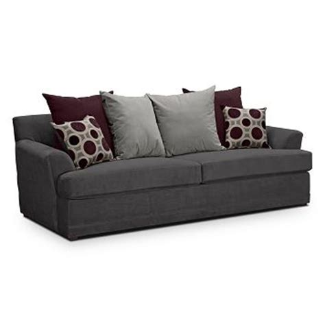 pull out sofa bed value city radiance upholstery queen sleeper sofa value city
