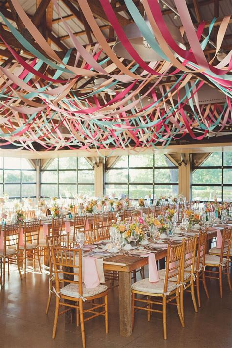 whimsical audubon pavilion reception