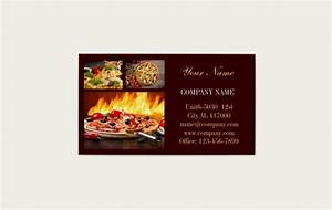 Fonts For Business Cards Modern Dinner Catering Business Card