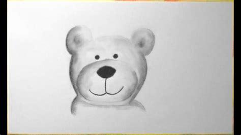 kuschel baer zeichnen im zeitraffer cuddly bear drawing