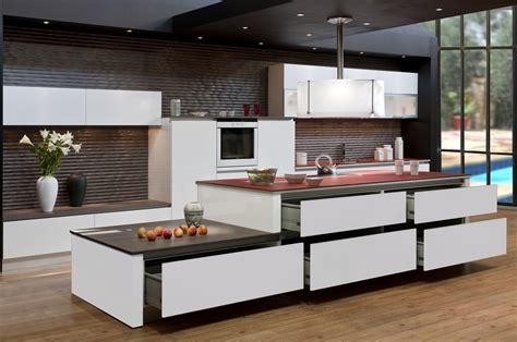 photo de cuisine design achat d 39 une cuisine avec meubles sans poignée modèle monet