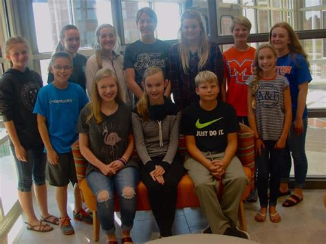 south marshall middle selects yearbook staff marshall county dailycom