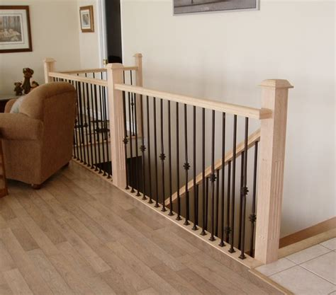 Railings And Banisters Ideas by 1000 Images About Stair Rail From To Lower Level On