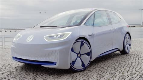 volkswagens id concept   future  small german cars