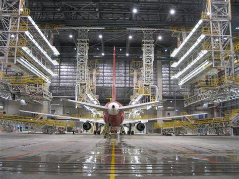 aircraft maintenance hangar qantas hangar 245 precise air