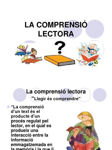 foto de LA COMPRENSIÓ LECTORA