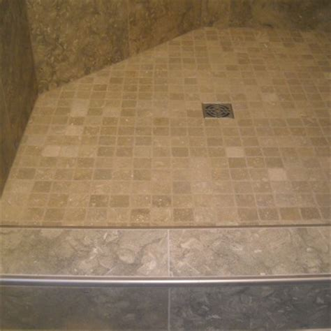 schluter shower westside tile  stone