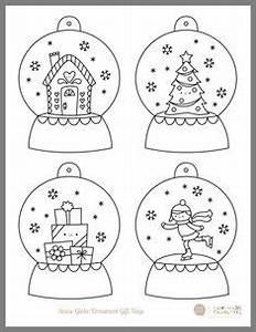 Weihnachtsgeschenke Zum Ausmalen : boules no l colorier et imprimer weihnachtsgeschenke ~ Watch28wear.com Haus und Dekorationen