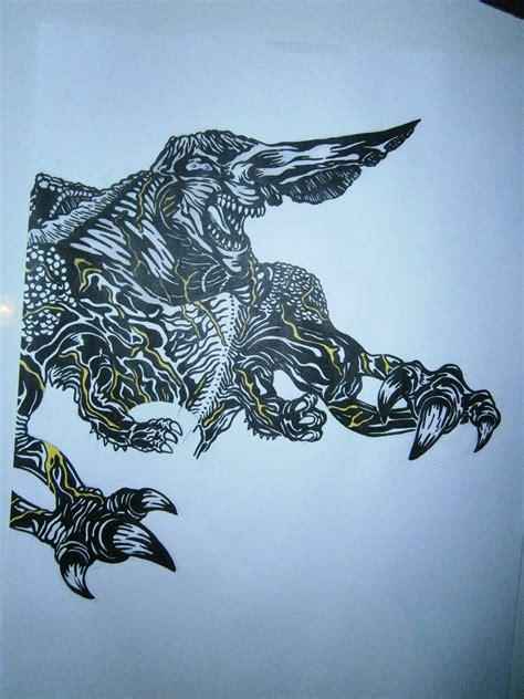 dibujo de knifehead pacific rim arte taringa