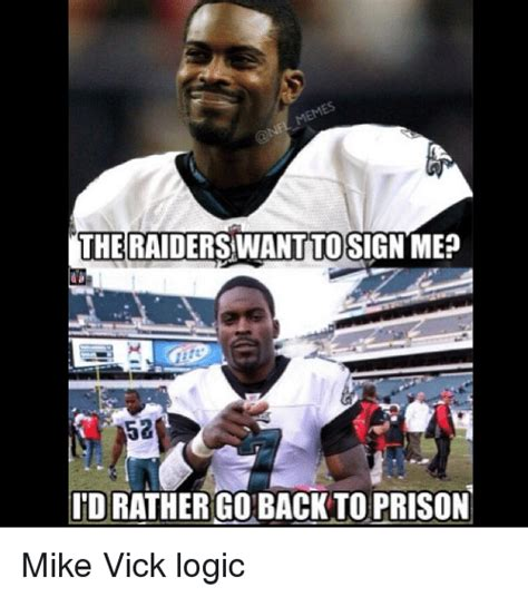 Mike Vick Memes - 25 best memes about prison and nfl prison and nfl memes