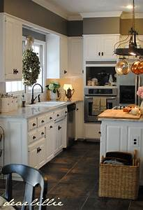 kitchen white cabinets gray walls wall color benjamin With kitchen colors with white cabinets with color block wall art