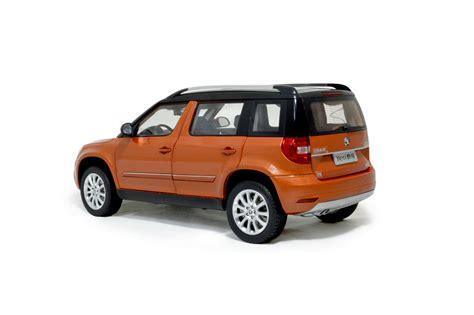 svw skoda yeti city   scale diecast model car