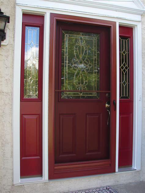 ALL-IN-RED-MATCHING-STORM-DOOR - Delaware Valley Aluminum ...