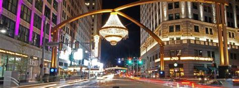 cleveland playhouse square chandelier cleveland is home to the world s largest outdoor chandelier
