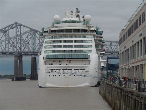 Cruise Ship In Port New Orleans | My Travels | Pinterest